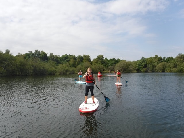 Ladies Stand Up Paddleboard