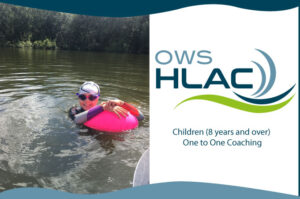 One to One coaching open water swimming children