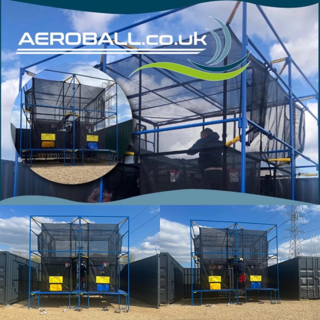 Aeroball UK at The Lake